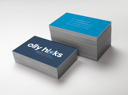Olly Hicks Branding