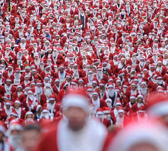Exclusive: for one day only I AM SANTA!
